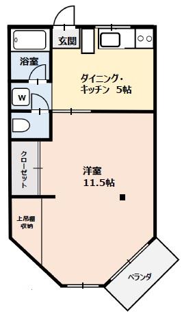 マリブガーデン箱根仙石原・103号室の間取り