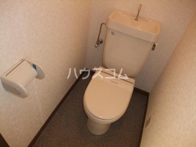 City heightsカーネーションC 201号室のトイレ