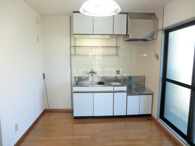 サンテンズガーデン 202号室のキッチン