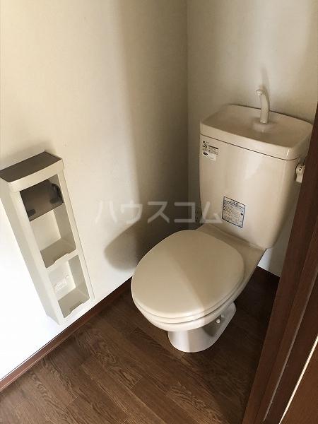 マイヒルズ小針A 202号室のトイレ