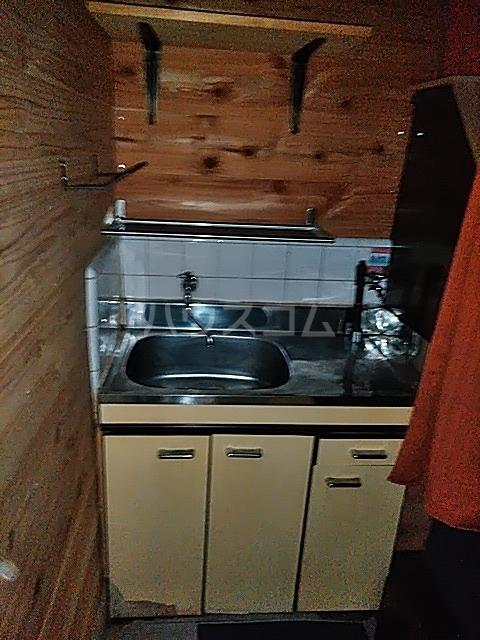 福寿館 103号室のキッチン