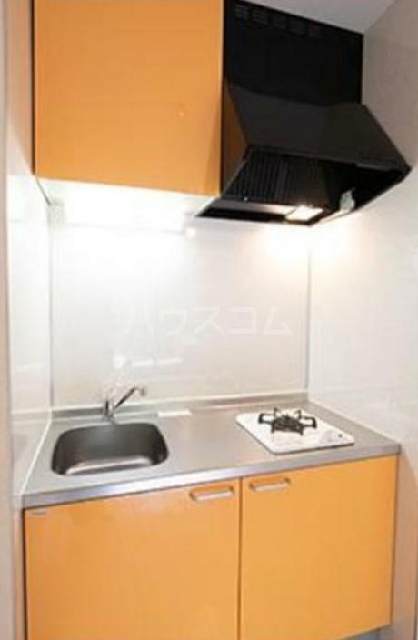 パークグレース新宿 306号室のキッチン