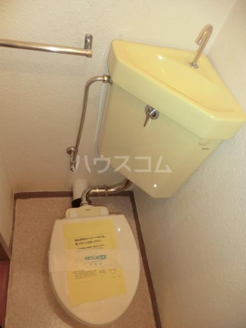 ハイツ堀 302号室のトイレ