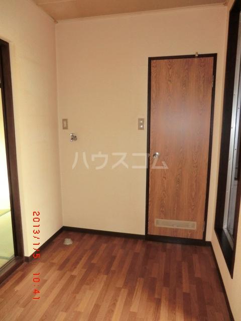 エクセレート府中B棟 201号室の収納
