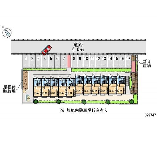 レオパレスSUNURUMA 202号室の駐車場