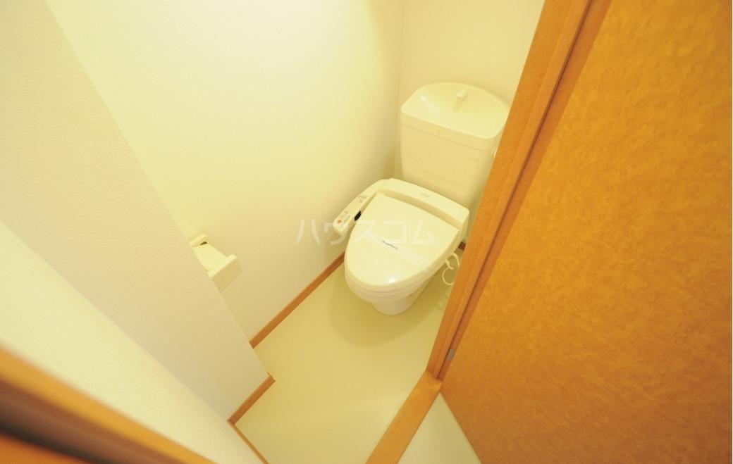 レオパレスサンクレスト我如古 203号室のトイレ