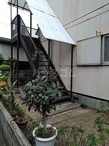 ふじなみ荘 201号室のエントランス