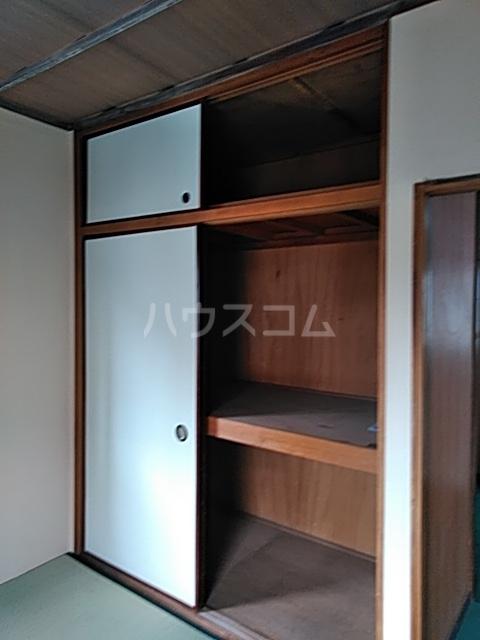 ふじなみ荘 201号室の収納