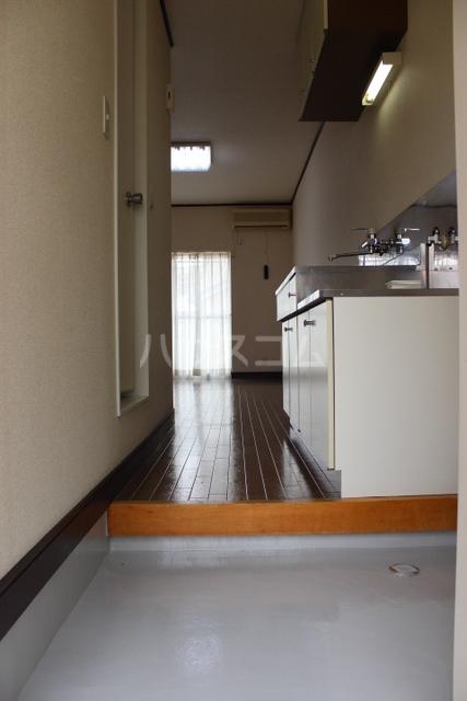 プリンスハイツ 112号室の玄関