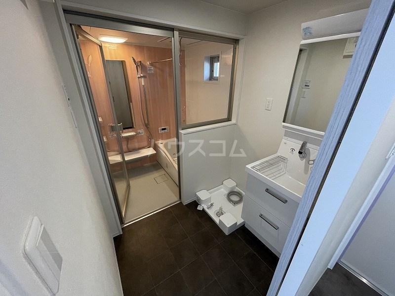 kibinosato 102号室の洗面所