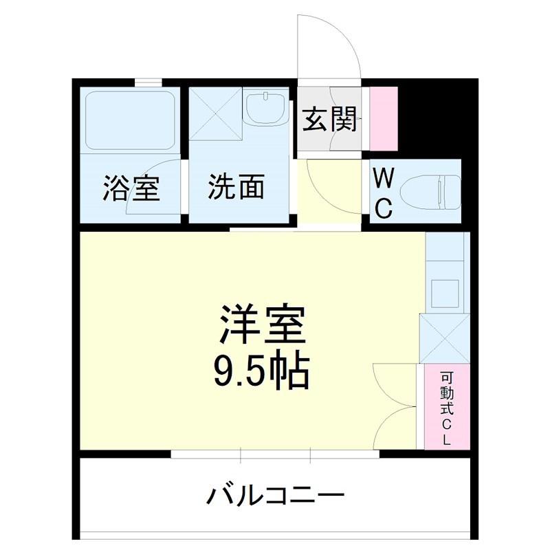 kibinosato・202号室の間取り