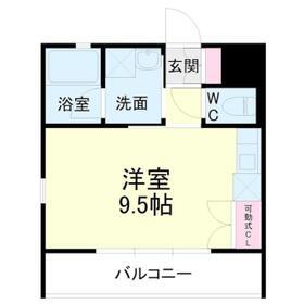 kibinosato・302号室の間取り