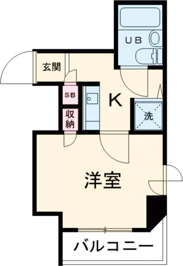 ライオンズマンション大森本町第3・211号室の間取り