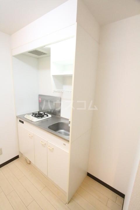 オアシス上豊田 109号室のキッチン