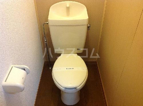 レオパレスロタシオン 204号室のトイレ