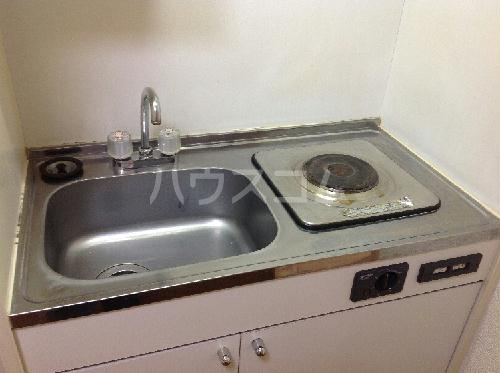 レオパレスロタシオン 206号室のキッチン