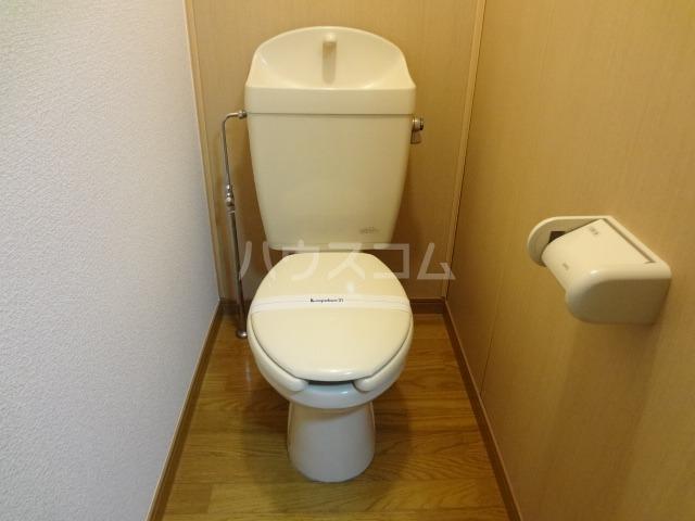 レオパレス昭和 301号室のトイレ
