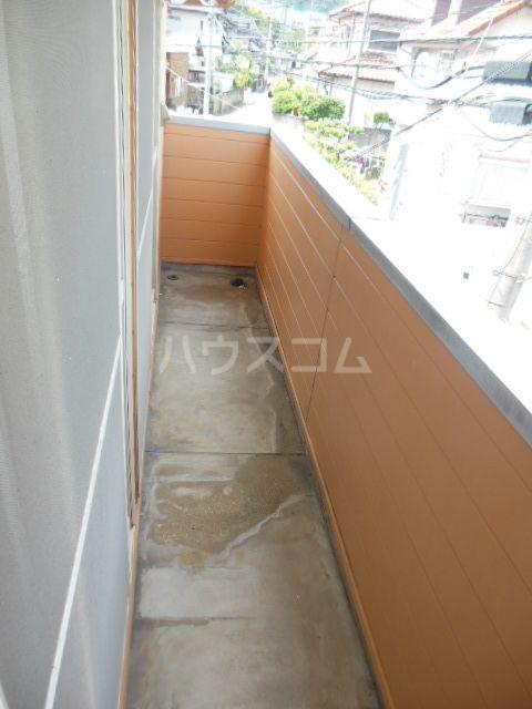 シティベール浦田 A202号室のバルコニー
