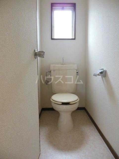 シティベール浦田 A202号室のトイレ