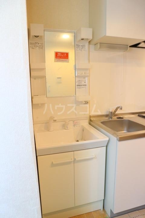 パレス芝公園 303号室の洗面所