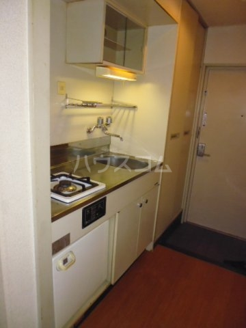 Nフラット 206号室のキッチン
