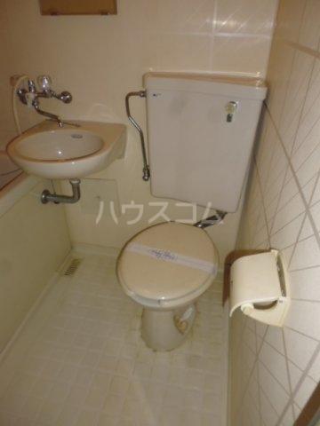 Nフラット 206号室のトイレ