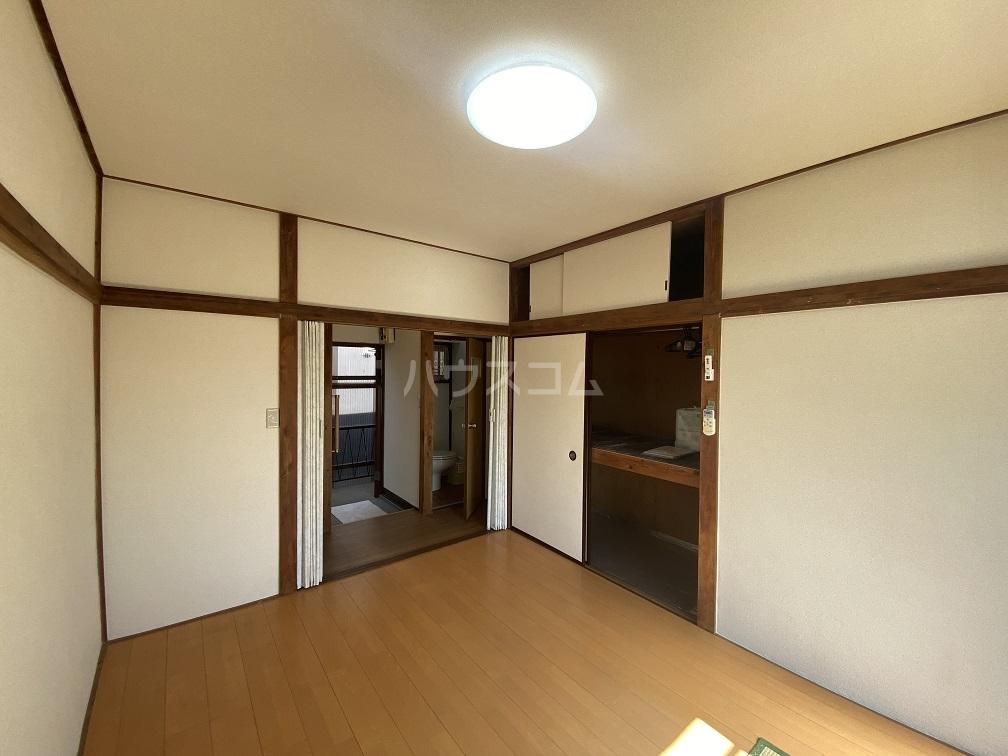 竹和荘 202号室のリビング