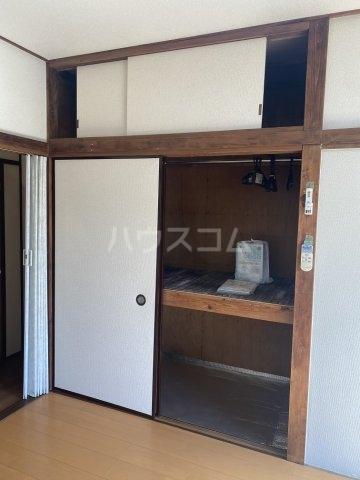 竹和荘 202号室の収納
