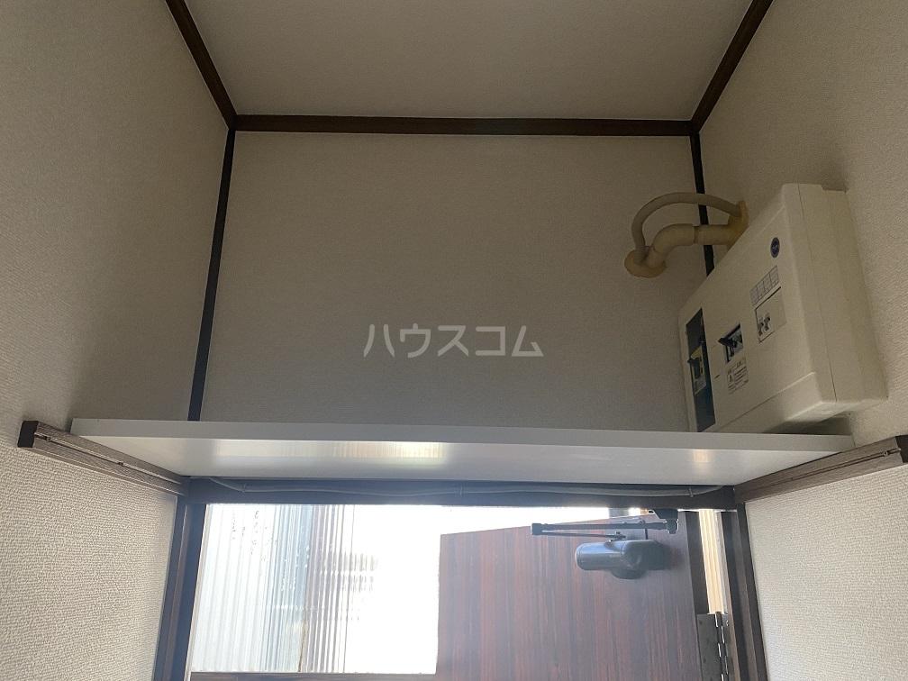 竹和荘 203号室の収納