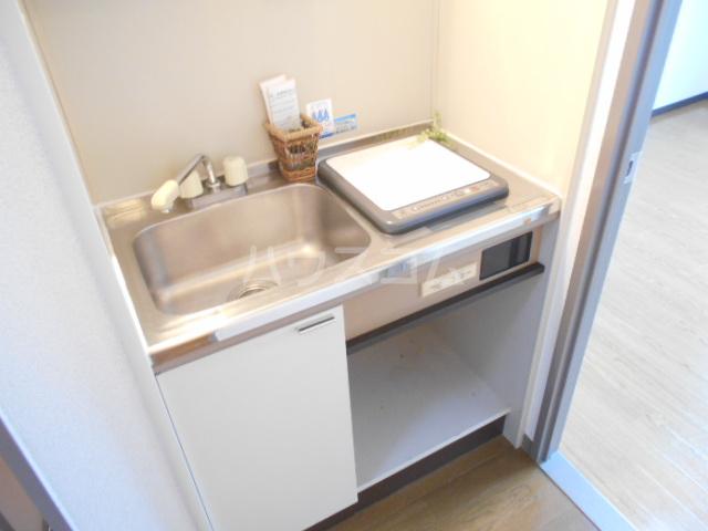 グレーシー西ノ京 210号室のキッチン