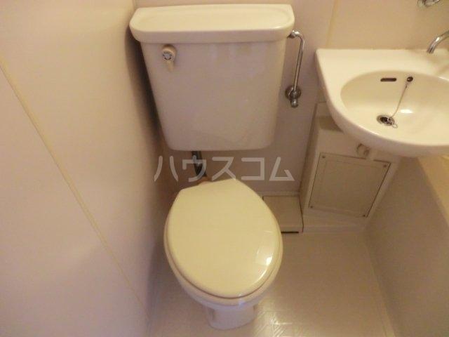 ラフォーレ西大路 203号室のトイレ
