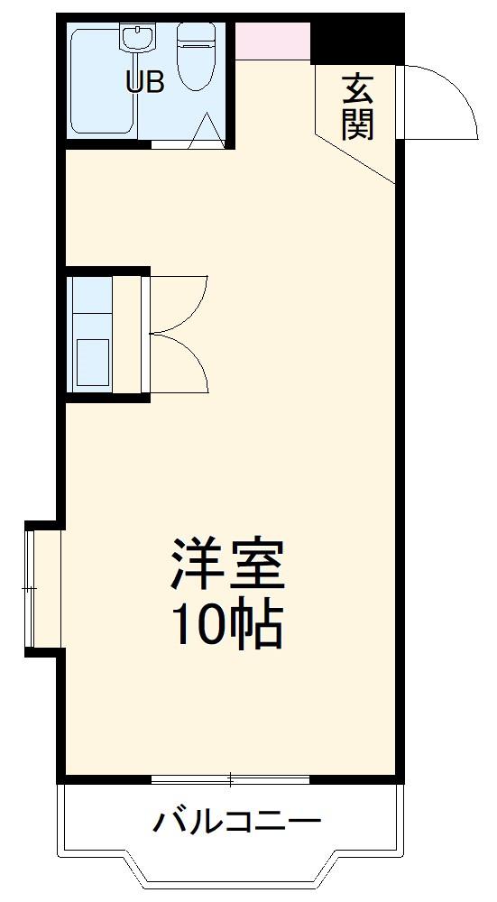 グレイス第6マンション・507号室の間取り