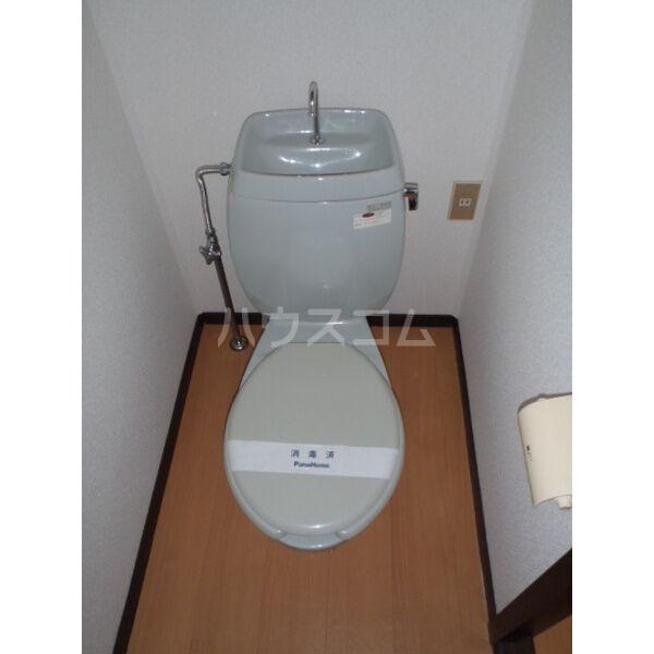 ハイツベストⅠ 202号室の洗面所