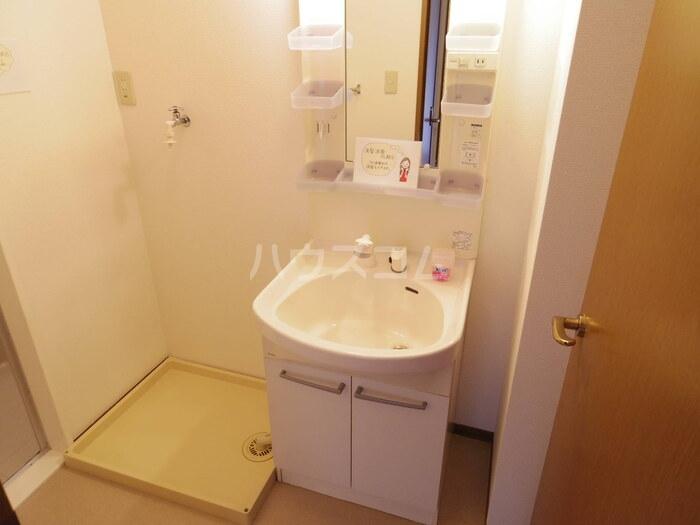 サニーホームズ C 102号室の洗面所
