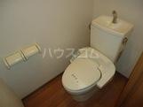 グレイスヴィラ 103号室のトイレ