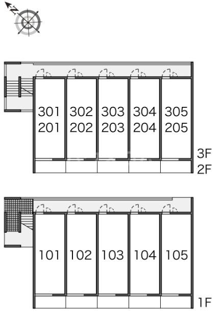レオパレスハル 203号室のその他