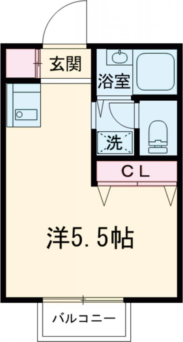 第三コーポ竹・1号室の間取り