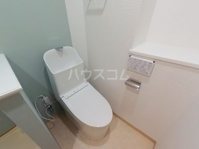リトルシャトーナガクラ 401号室のトイレ