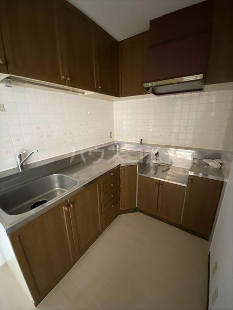 ドルフヤマノウチB 202号室のキッチン