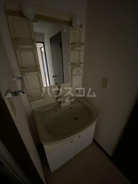ドルフヤマノウチB 202号室の洗面所