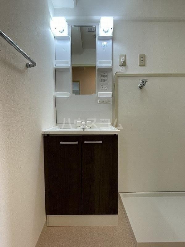 エクセルひくま 304号室の洗面所