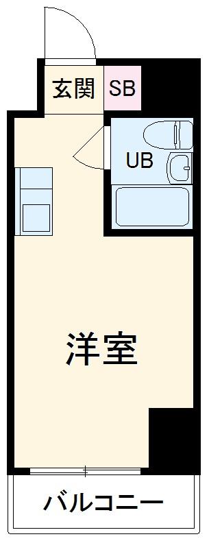 伊勢佐木町ダイカンプラザシティⅡ・803号室の間取り