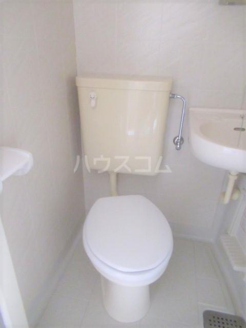 ヒットビット向ヶ丘 302号室のトイレ