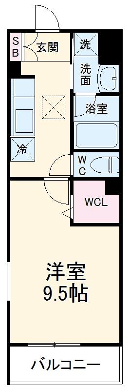 (仮称)有限会社双洋様アパート・101号室の間取り