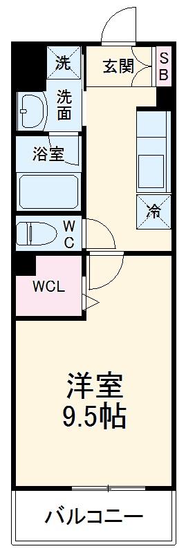 (仮称)有限会社双洋様アパート・103号室の間取り