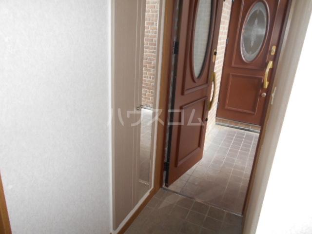 グランファーレB 102号室の玄関