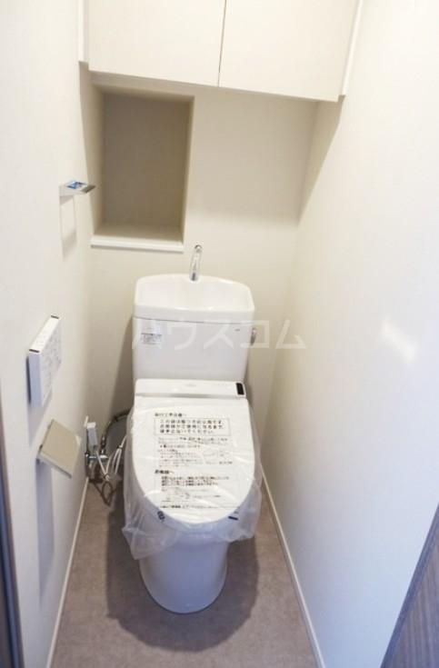 ディームス大塚 601号室のトイレ