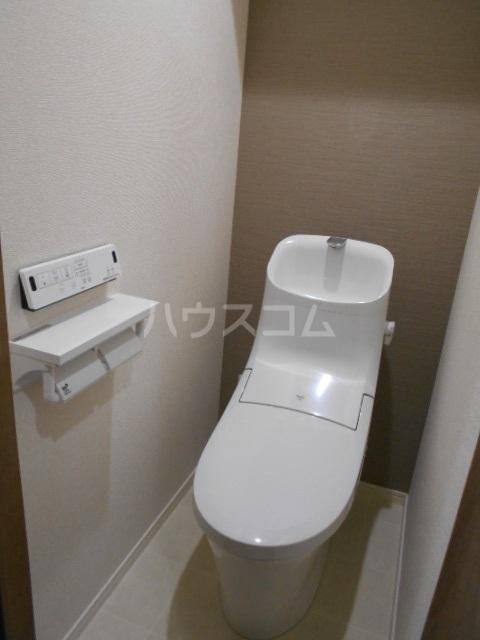 ラミューズ宇都宮 105号室のトイレ