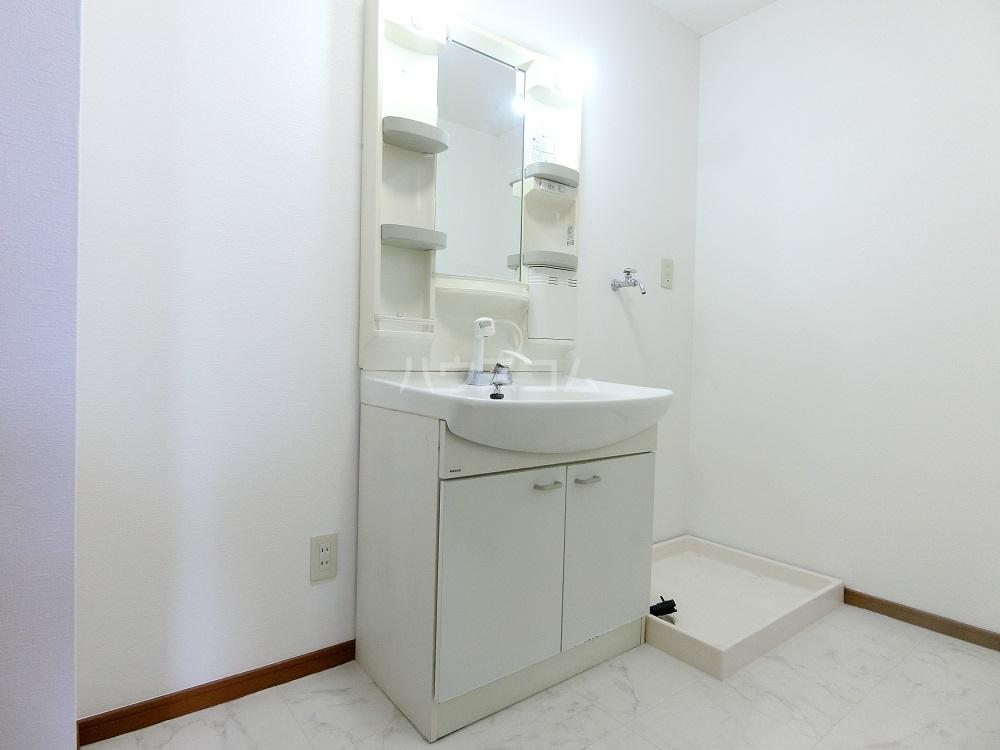 メゾン21 101号室の洗面所