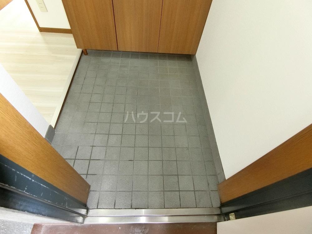 メゾン21 101号室の玄関
